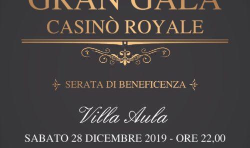 """Serata di Beneficenza – """"Gran Galà Casinò Royale"""""""