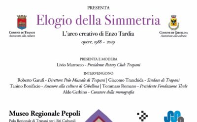 """Elogio della Simmetria – """"L'arco creativo di Enzo Tardia"""""""