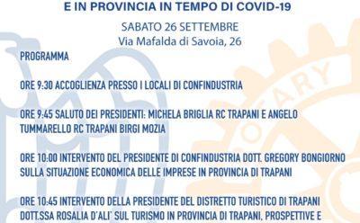 """Evento – """"Riflessioni sullo stato dell'economia a Trapani e in Provincia in tempo di Covid-19"""""""