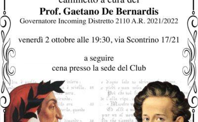 """Caminetto – """"L'Italiano (questo sconosciuto)"""""""